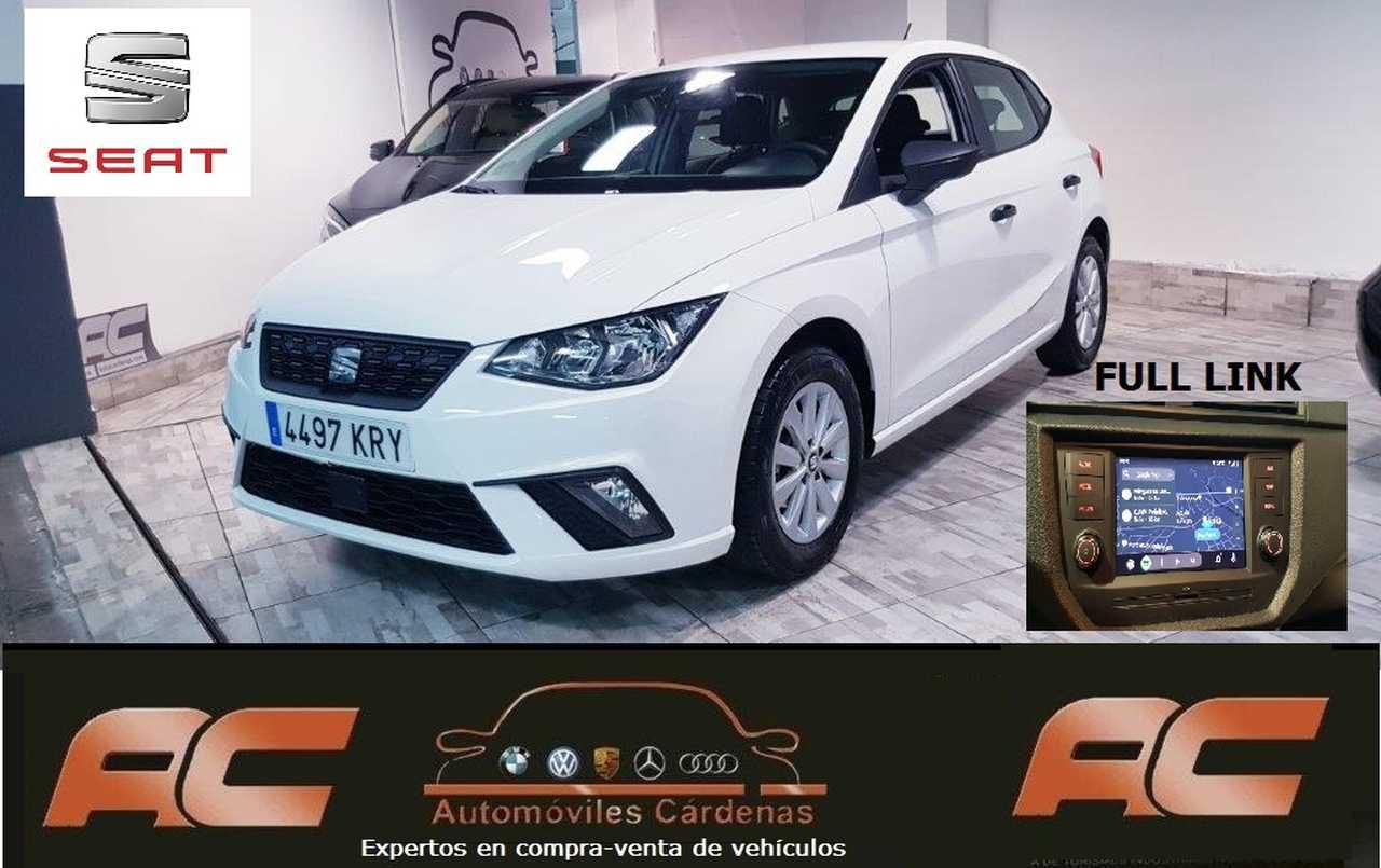 Seat Ibiza 1.0 TSI 80CV FULL LINK CAR PLAY-SENSORES APARC T-BLUETOOTH  - Foto 1