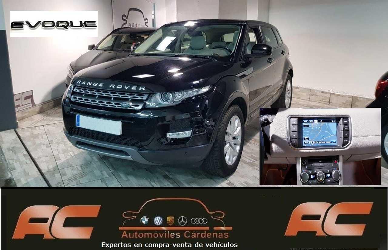 Land-Rover Range Rover Evoque 2.2 td4 4x4 AUTOMATICO PURE TECH TECHO-NAVI-CUERO BEIGE  - Foto 1
