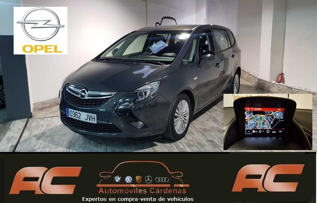 Opel Zafira 1.6 CDTI 110CV SELECTIVE 2017 7 PLAZAS - NAVEGDOR GPS-SENSORES APAR DEL Y TRAS  - Foto 1
