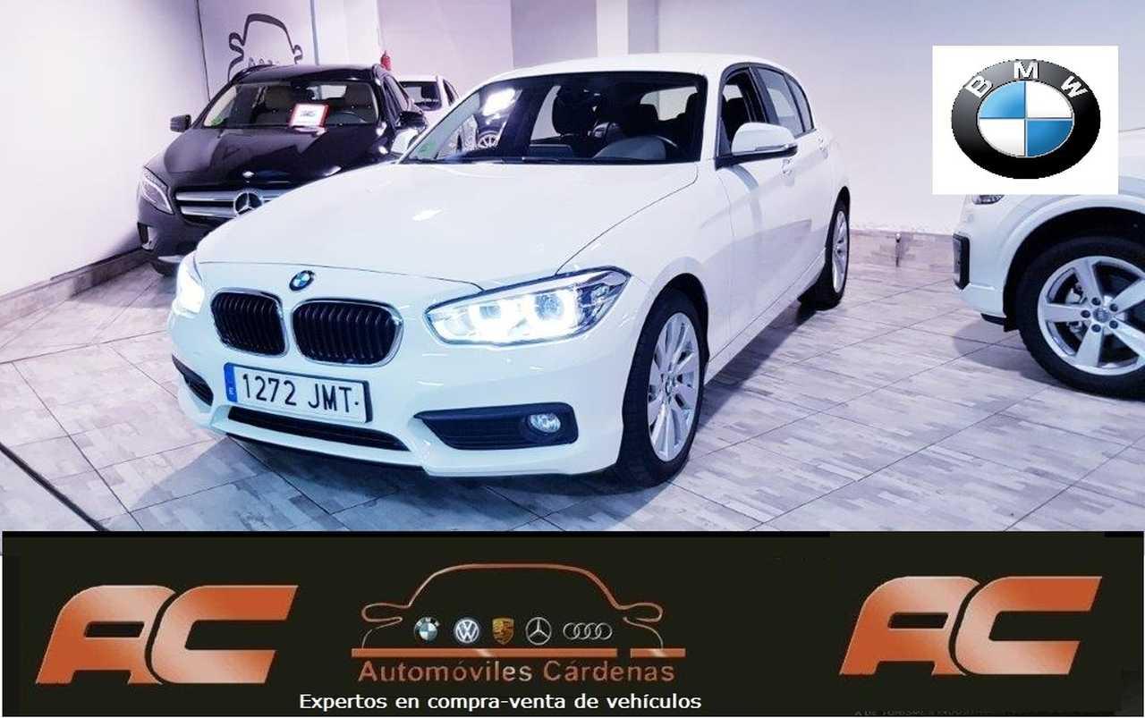 BMW Serie 1 116D ADVANTATGE FAROS LET-SENSORES TRASEROS APARC-BLUETOOTH  - Foto 1