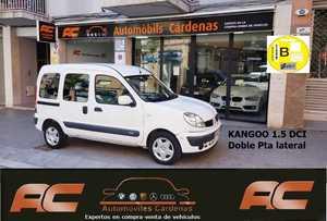 Renault Kangoo combi 1.5 dci 65CV ALIZE DOBLE PUERTA LATERAL-AIRE ACON  - Foto 2