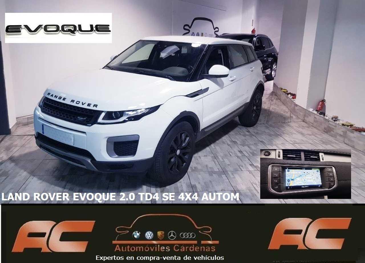 Land-Rover Range Rover Evoque 2.0L TD4 110kW 110kW 4x4 SE Auto. 5p. CAMARA T-GPS-LLANTAS NEGRA  - Foto 1