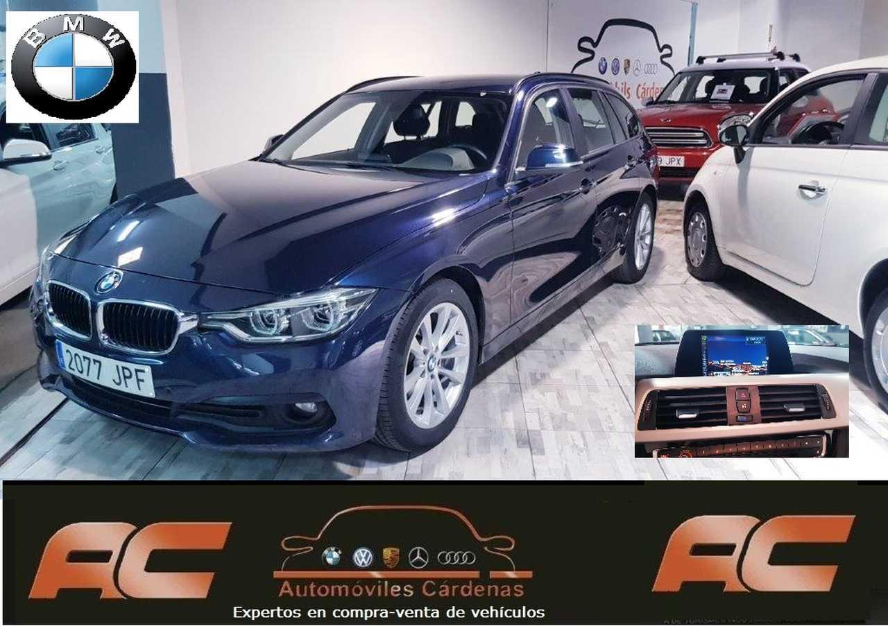 BMW Serie 3 Touring 318D TOURING NAVEGADOR GPS.XENON+LETS-CAMARA T  - Foto 1