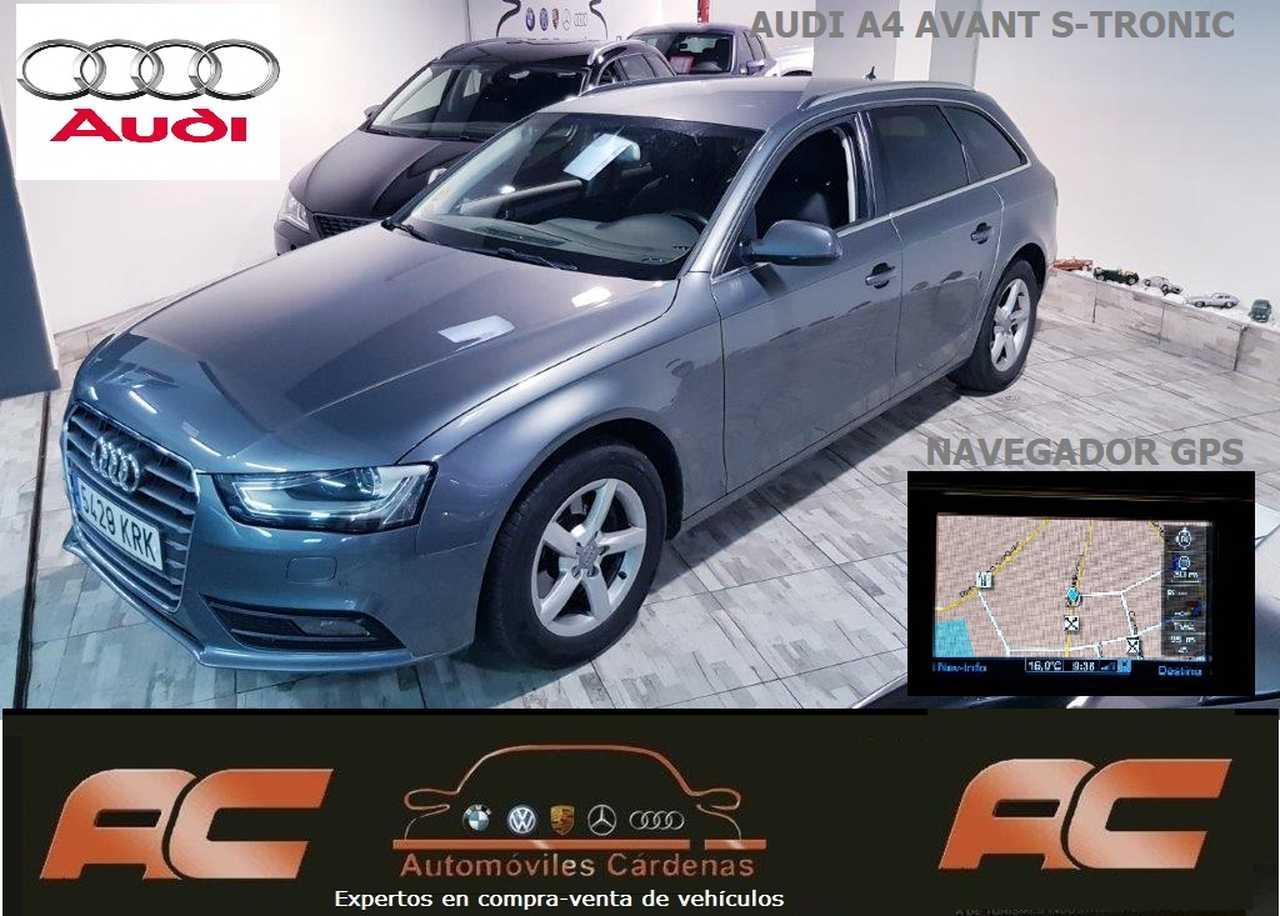 Audi A4 Avant 2.0 TDI 150.CV S-TRONIC AUTOMATICO-NAVEGADOS-XENON-SENSORES DELAN Y TRAS  - Foto 1