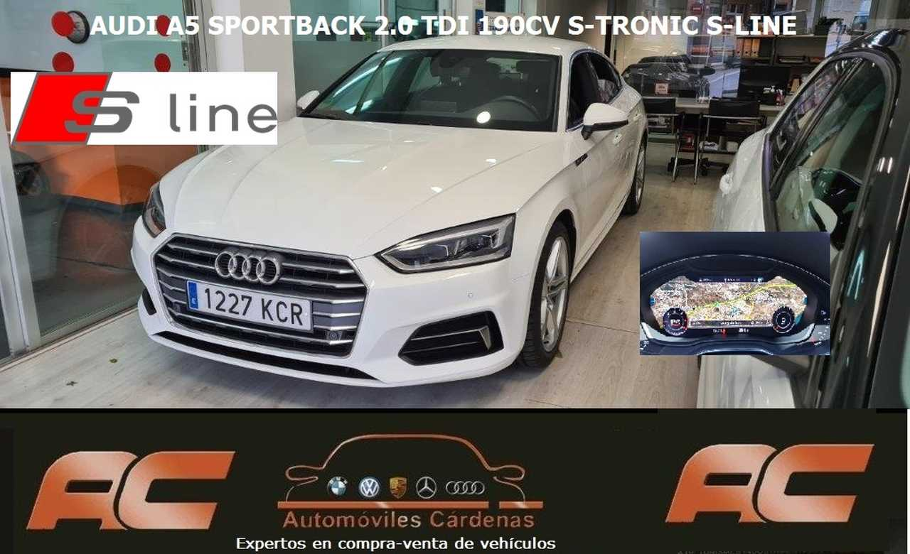 Audi A5 Sportback 2.0 TDI 190CV S-TRONIC S-LINE Audi virtual cockpit- S-LINE   - Foto 1