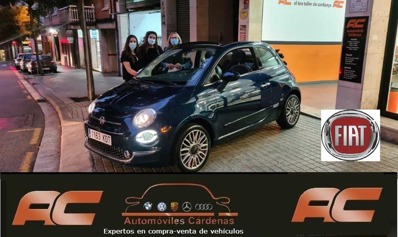 Fiat 500C 1.2 LOUNGE CABRIO-CLIMA-USB-LLANTAS-AUTOMATICO  - Foto 1