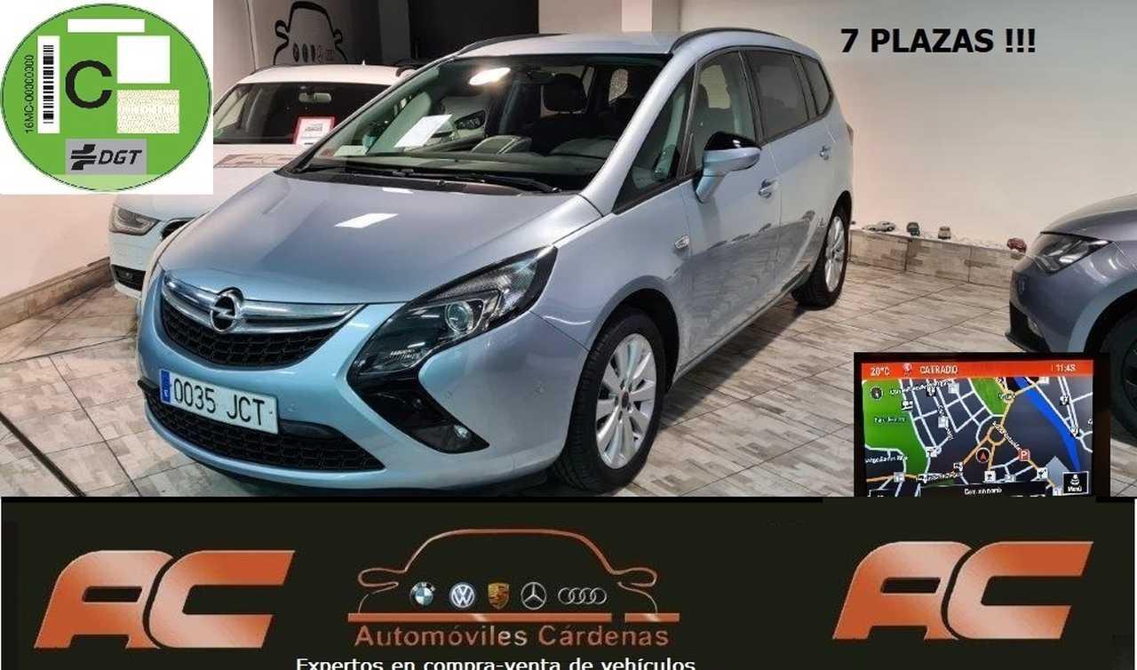Opel Zafira Tourer    2.0 CDTI 130CV SELECTIVE 7 PLAZAS NAVEGADOR GPS-CAMARA T  - Foto 1