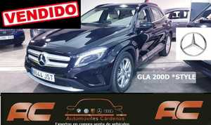 Mercedes GLA 200 CDI STYLE APPLE CAR PLAY FAROS LET-APPLE CAR PLAY-PDC T  - Foto 2