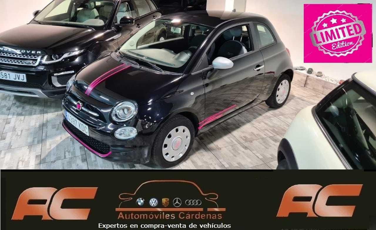 Fiat 500 1.2 POP 69CV BLACK LINE DECORACION EXCLUSIVA-USB-BLUETOOTH  - Foto 1