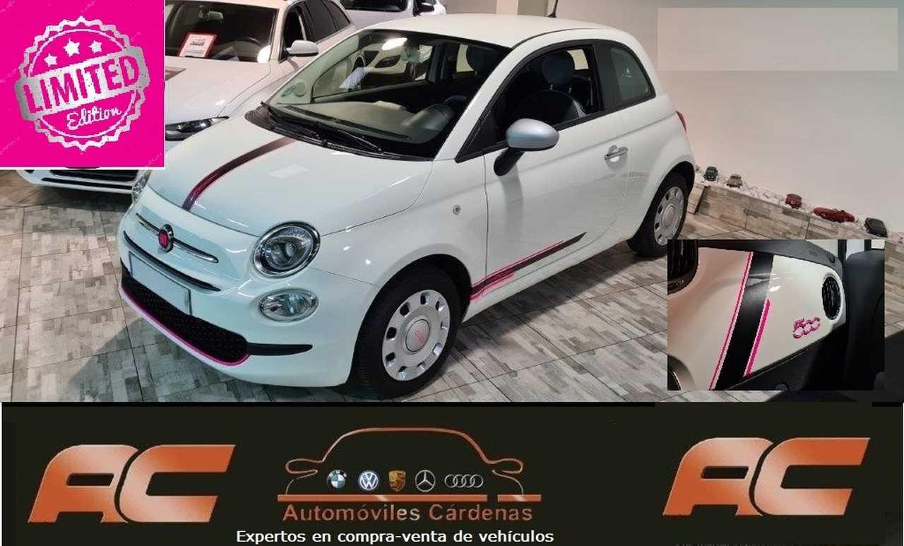 Fiat 500 1.2 POP LIMITED EDITION PINK PANTALLA TACTIL-SENSORES APAR T-BLUETOOTH  - Foto 1