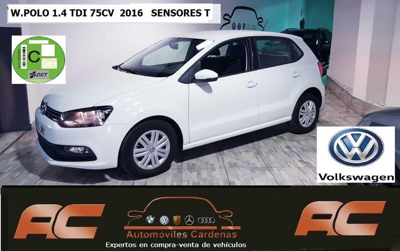 Volkswagen Polo 1.4 TDI 75CV BLUEMOTION SENSORES APAR T  -BLUETOOTH  - Foto 1