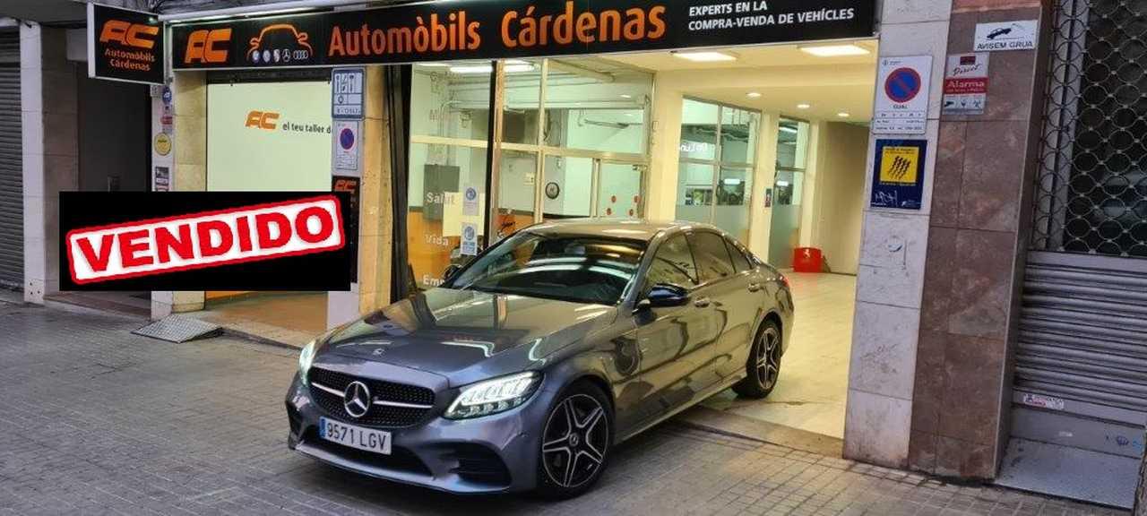Mercedes Clase C 200d AMG LINE PAQUETE  AMG-GPS AUTOMATICO.LEDS  - Foto 1