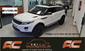 Land-Rover Range Rover Evoque 2.2L SD4 4X4 190CV PRESTIGE AUTOMATICO 3 PUERTAS TECHO HEAD-UP DISPLAY-CUERO-NAVI-19