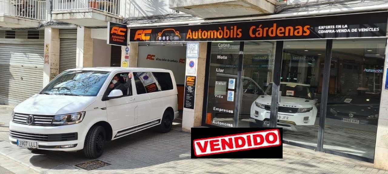 Volkswagen Transporter KOMBI 6 2.0 TDI 140CV 6 MARCHAS CAMA CON COLCHON-LUNAS TINTADAS-BOLA REMOLQUE  - Foto 1