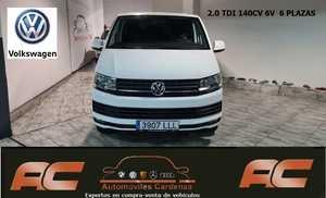 Volkswagen Transporter KOMBI 6 2.0 TDI 140CV 6 MARCHAS CAMA CON COLCHON-LUNAS TINTADAS-BOLA REMOLQUE  - Foto 3
