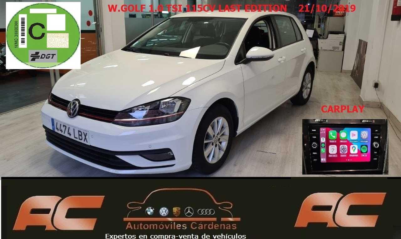 Volkswagen Golf 1.0 TSI 115CV READY2GO LAST EDITION CARPLAY-26.000 KMS SENSORES DELANTEROS Y TRASEROS  - Foto 1