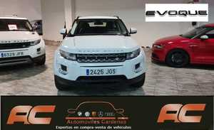 Land-Rover Range Rover Evoque 2.2L SD 4X4 PURE TECH AUTOMATICO NAVEGADOR GPS-CUERO NEGRO-XENON  - Foto 2