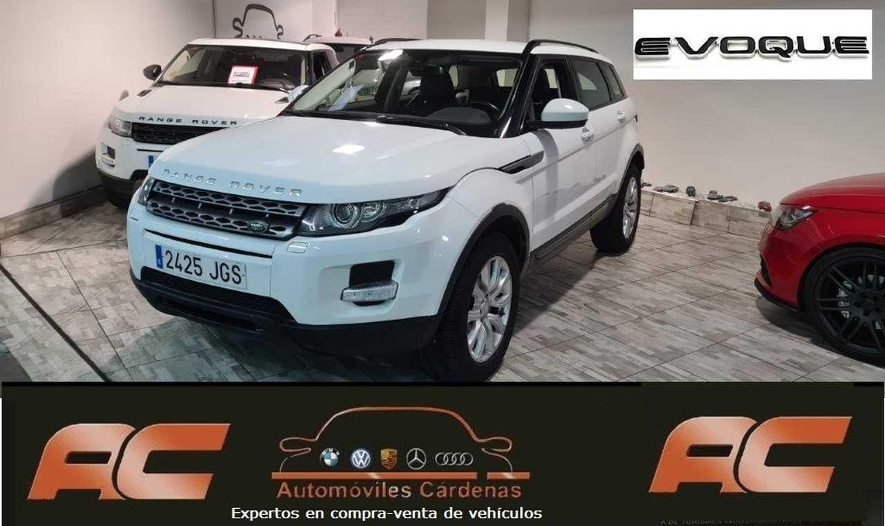 Land-Rover Range Rover Evoque 2.2L SD 4X4 PURE TECH AUTOMATICO NAVEGADOR GPS-CUERO NEGRO-XENON  - Foto 1
