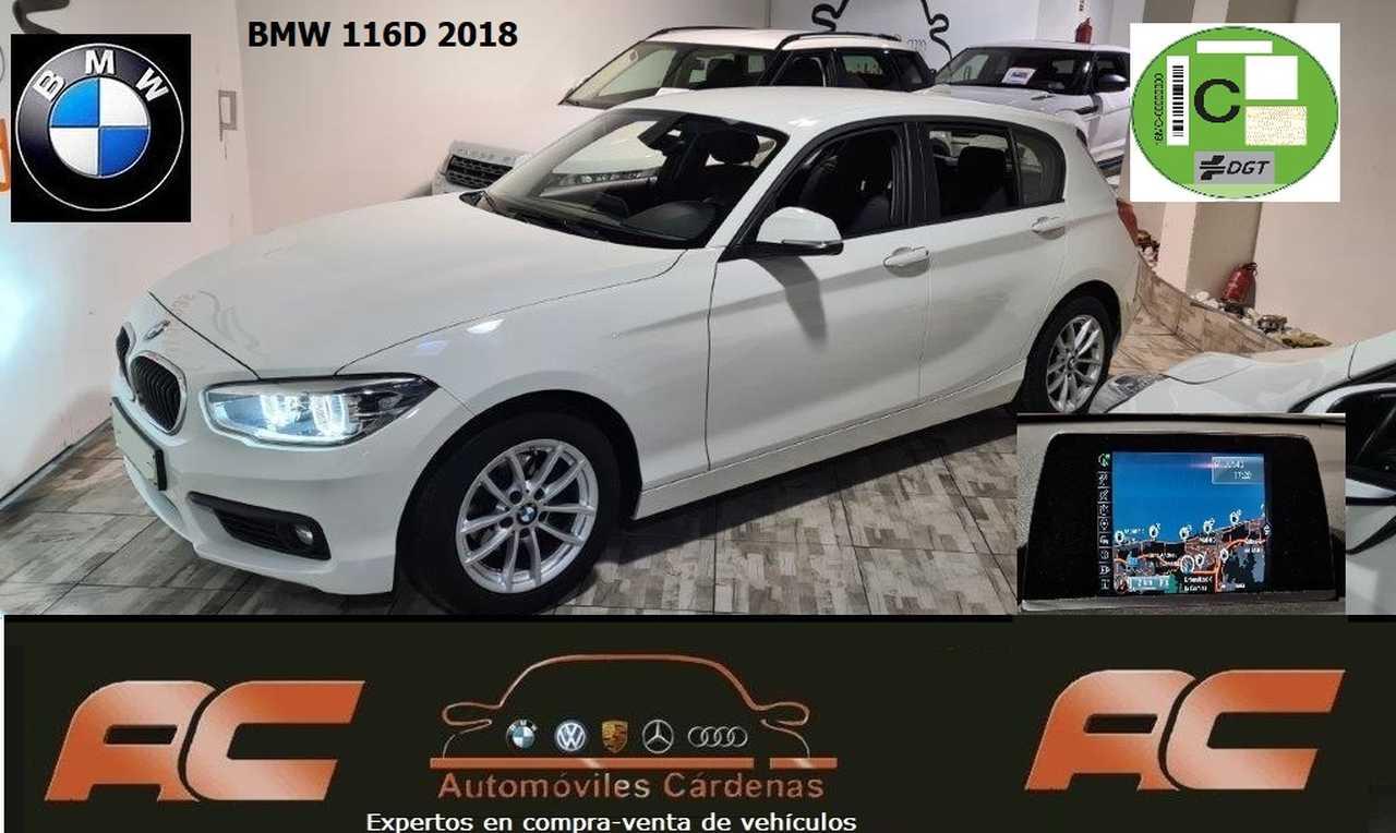 BMW Serie 1 116D 5 PUERTAS NAVEGADOR PROFEIONAL -FAROS LED-BLUETOOTH-USB  - Foto 1