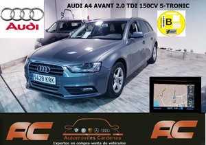 Audi A4 Avant 2.0 TDI 150CV MULTITRONIC NAVEGADOR GPS.XENON+LEDS-BLUETOOTH  - Foto 3