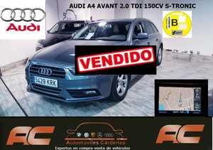 Audi A4 Avant 2.0 TDI 150CV MULTITRONIC NAVEGADOR GPS.XENON+LEDS-BLUETOOTH  - Foto 2