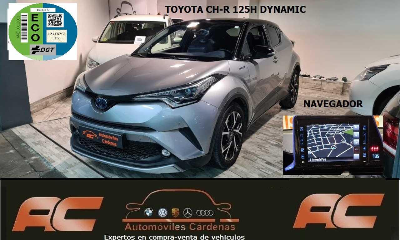 Toyota C-HR 125H DYNAMIC PLUS CUERO-NAVEGADOR GPS-LEDS-TECHO NEGRO  - Foto 1