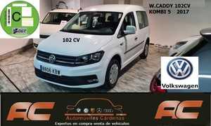 Volkswagen Caddy 2.0 TDI 102CV KOMBI 5 UBS-BLUETOOTH-FAROS NIEBLA  - Foto 2
