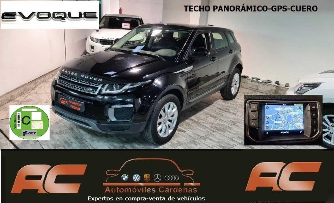Land-Rover Range Rover Evoque Evoque 2.0L TD4 150cv 4x4 SE Auto. TECHO PANORAMICO-NAVEGADOR GPS-PIEL-CAMARA-XENON  - Foto 1
