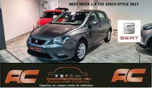 Seat Ibiza 1.4 TDI 105CV STYLE CLIMA-LLANTAS ALUMINIO-BLUETOOTH  - Foto 2