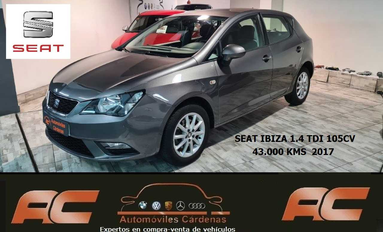 Seat Ibiza 1.4 TDI 105CV STYLE CLIMA-LLANTAS ALUMINIO-BLUETOOTH  - Foto 1