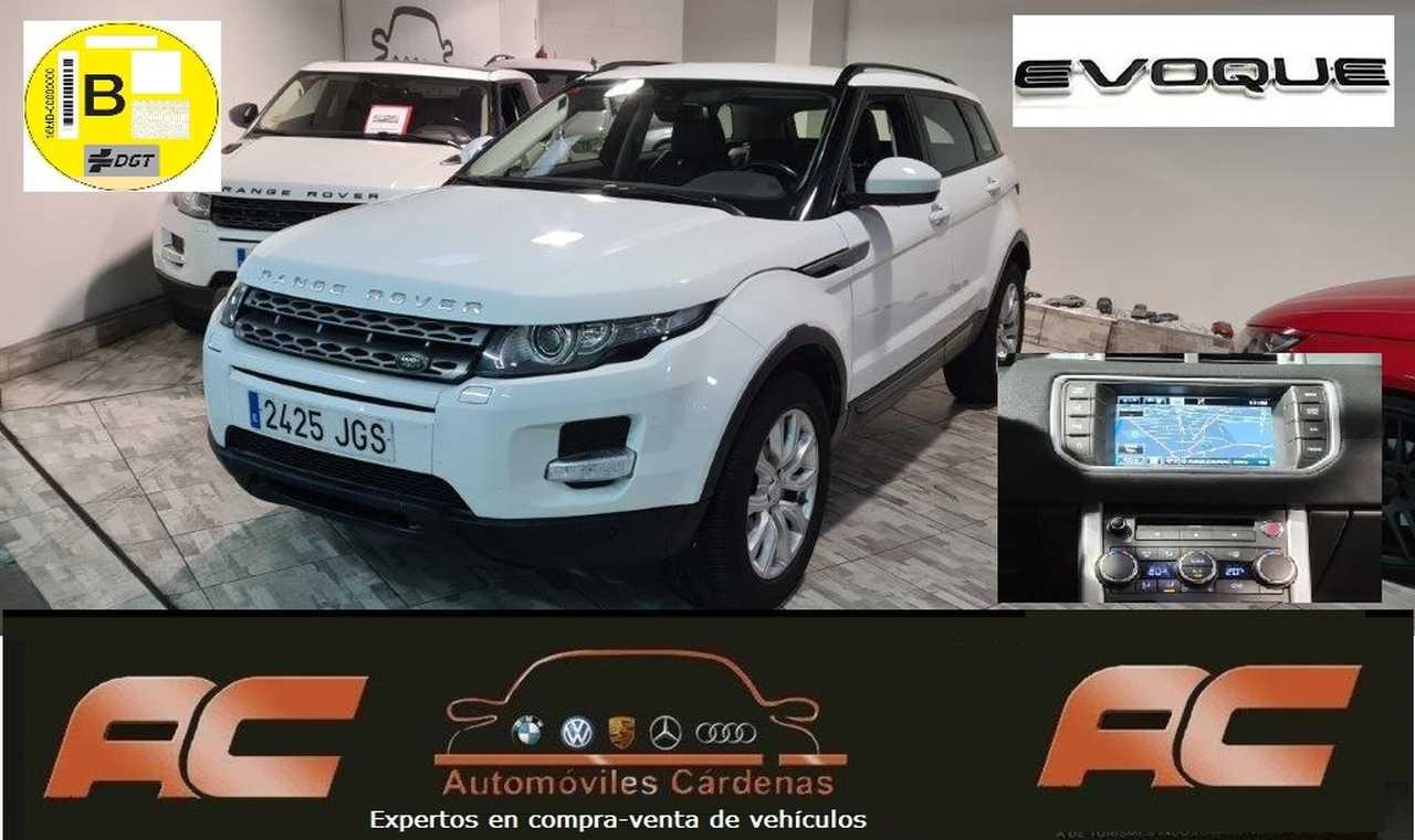 Land-Rover Range Rover Evoque Evoque 2.0L TD4 150cv 4x4 SE Auto. NAVI-CLIMJA-LLANTA 18-CUERO NEGRO  - Foto 1