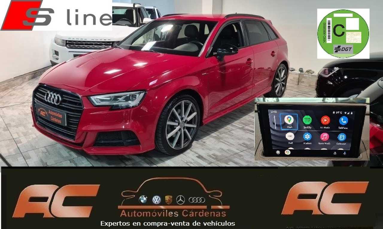 Audi A3 Sportback 35 TFSI BLACK LINE S-TRONIC  S-LINE FAROS LED-APPLE CAR PLAY-PDC DEL Y TRAS-GPS  - Foto 1