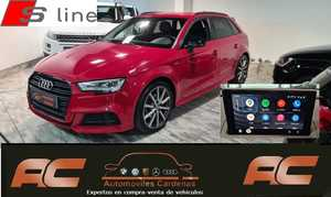 Audi A3 Sportback 35 TFSI BLACK LINE S-TRONIC  S-LINE FAROS LED-APPLE CAR PLAY-PDC DEL Y TRAS-GPS  - Foto 2
