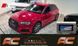 Audi A3 Sportback 35 TFSI BLACK LINE S-TRONIC  S-LINE FAROS LED-APPLE CAR PLAY-PDC DEL Y TRAS-GPS  - Foto 3