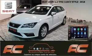 Seat Leon ST 1.2 TFSI 110CV STYLE PANTALL FULL LINK-CLIMA-LLANTAS-BLUETOOTH  - Foto 2