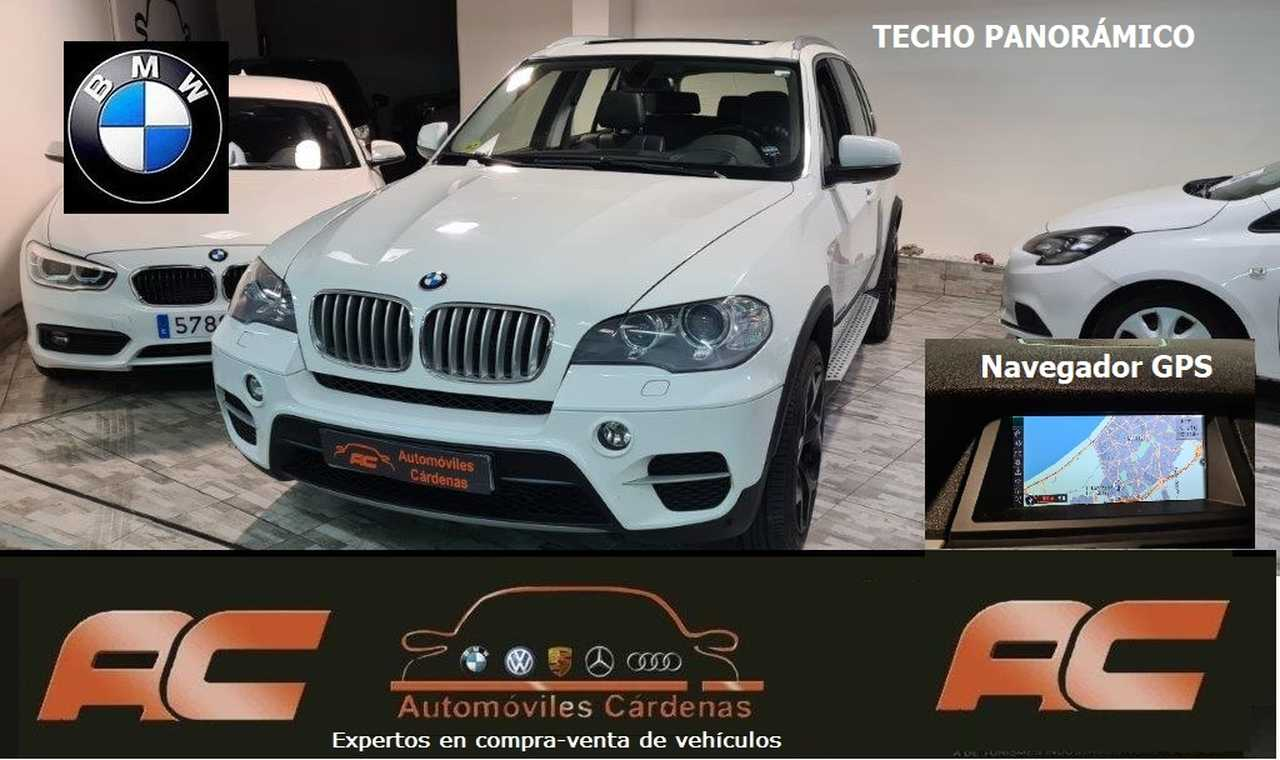 BMW X5 XDRIVE 3.0D TECHO ELEC-NAVI-CUERO-XENON  - Foto 1