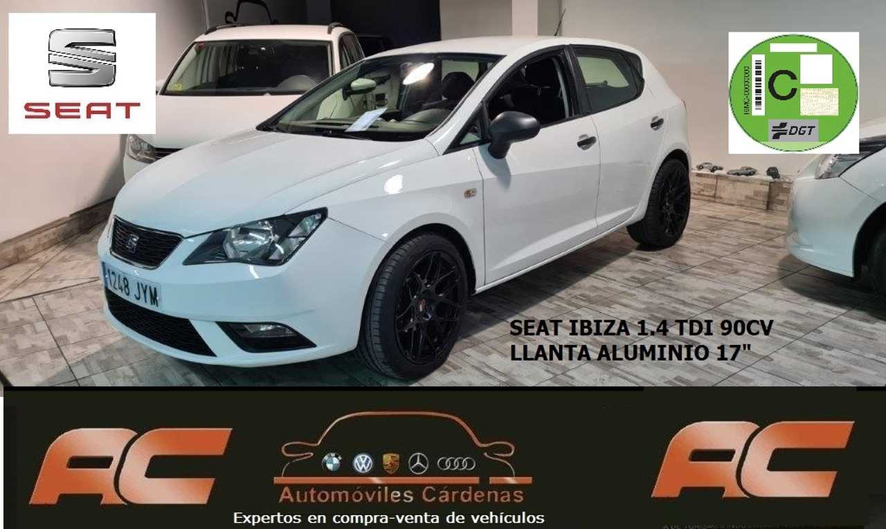 Seat Ibiza 1.4 TDI 90CV REFERENCE PLUS LLANTA 17