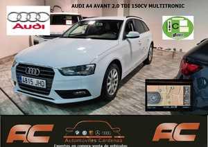 Audi A4 Avant 2.0 TDI 150CV MULTITRONIC NAVEGADOR GPS-FAROS LED-SENSORES APAR T  - Foto 2