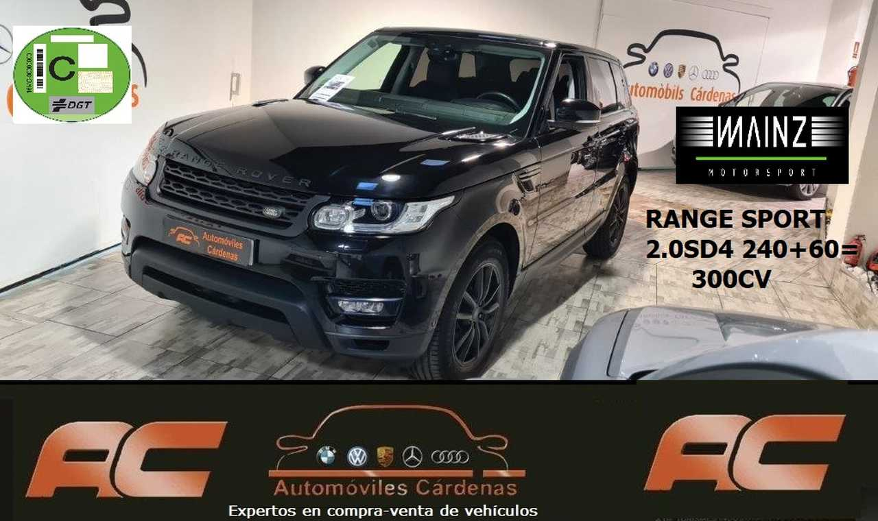 Land-Rover Range Rover Sport 2.0 SD4 240CV REPROGRACION +60CV=300CV NAVI-LLANTAS 19