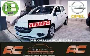 Opel Corsa 1.4 90cv BUSINESS AIRE-VOLANTE MULTIFUNCION-USB-BLUETOOTH  - Foto 2