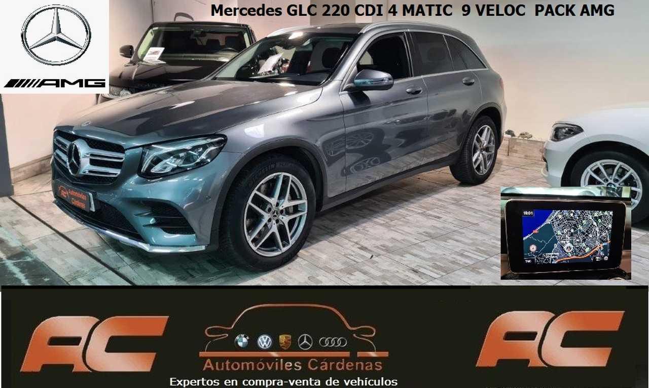 Mercedes GLC 220CDI 4 MATIC 9VEL NAVI-LLANTAS 19
