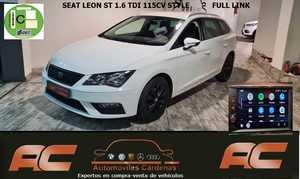 Seat Leon ST 1.6 TDI 115CV STYLE   PANTYALLA FULL LINK SENSOR APARCAMIENTO T-VERSION LIMITED EDITION  - Foto 2