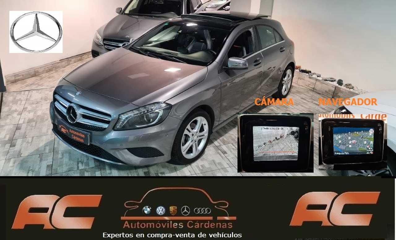 Mercedes Clase A 180CDI STYLE TECHO ELECTRICO-NAVEGADOR GPS-FAROS LED-CAMARA T  - Foto 1