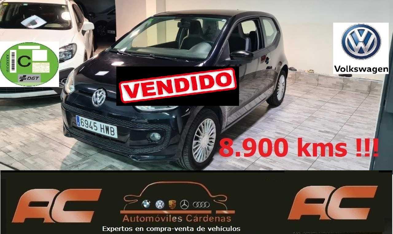 Volkswagen up! HIGH 1.0 60CV 8.900 KMS   LLANTAS ALUMINIO-AA-EE-ASIENTOS CALEFACTADOS  - Foto 1