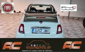 Fiat 500C 1.2 LOUNGE 69CV CAPOTA BEIGE-CLIMA-LLANTA 16