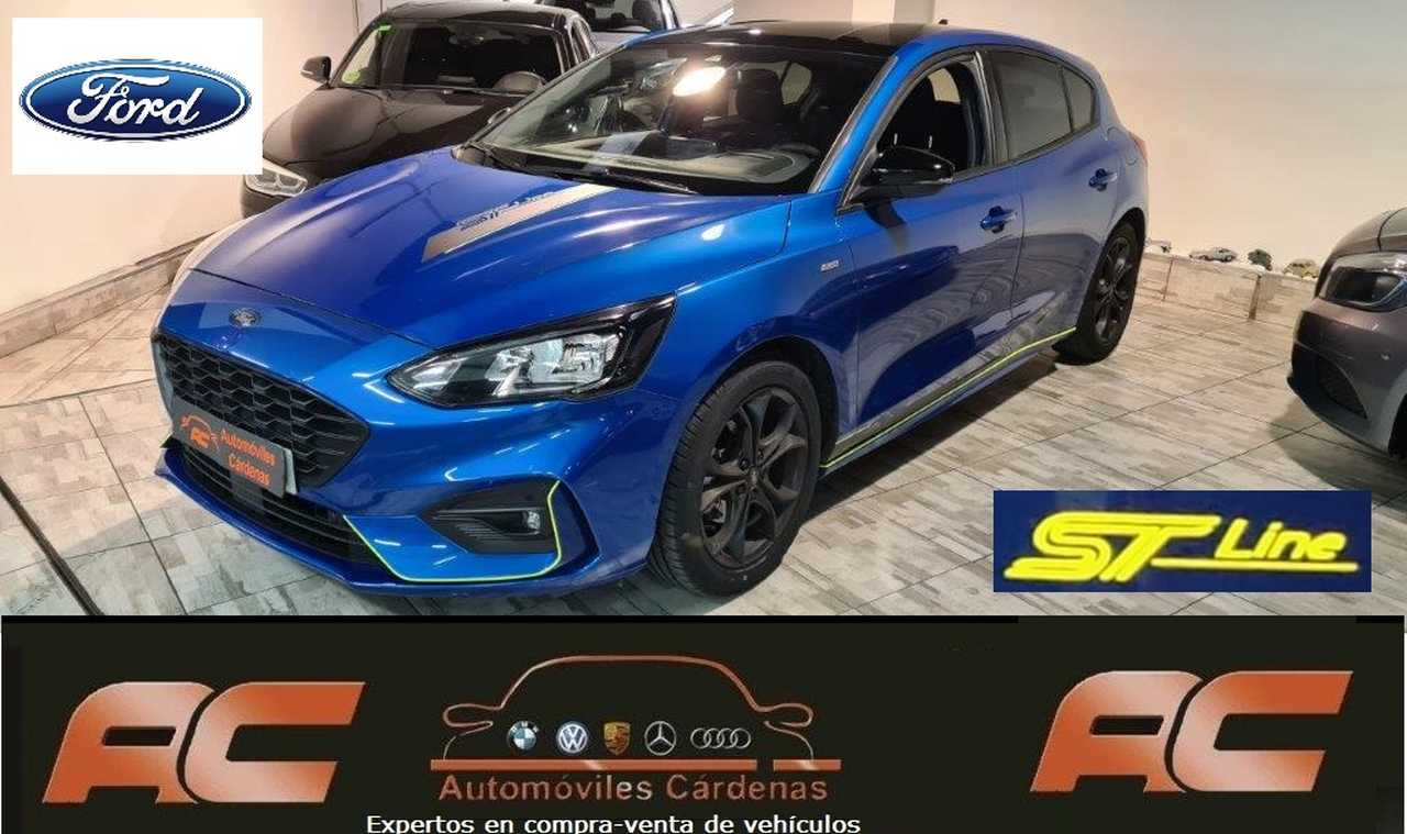 Ford Focus 1.0 ecoboost ST-LINE 125cv 07/2019 GPS-CAPLAY-CAMARA T-LLANTA Y TECHO NEGRO  - Foto 1