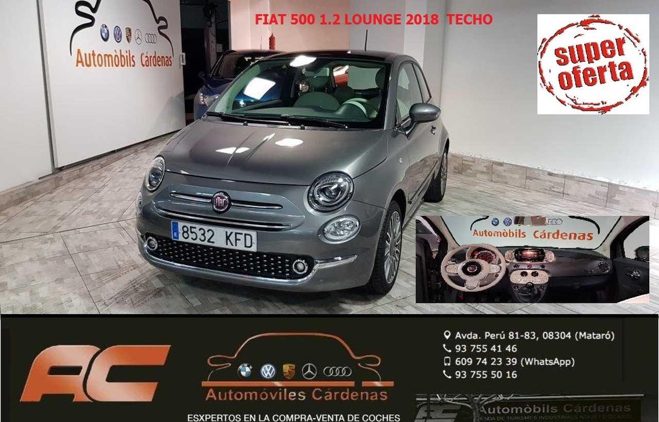Fiat 500 1.2 SPORT 2018  69CV 2018  CLIMA-TECHO PANORAMICO-USB-TEL-LLANTAS  - Foto 1