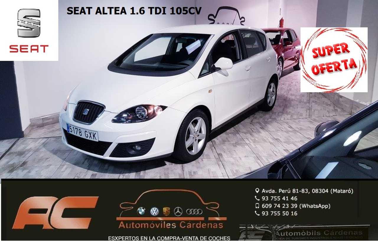 Seat Altea 1.6 TDI 105CV REFERENCE ECOMOTIVE CLIMA-LLANTAS-TEL-USB-VOLANTE MULTIFUNCION  - Foto 1