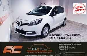 Renault Scénic 1.2 TCe 115cv LIMITED ENERGY CLIMA-USB-LLANTAS-USB-BLEUTOOTH  - Foto 2