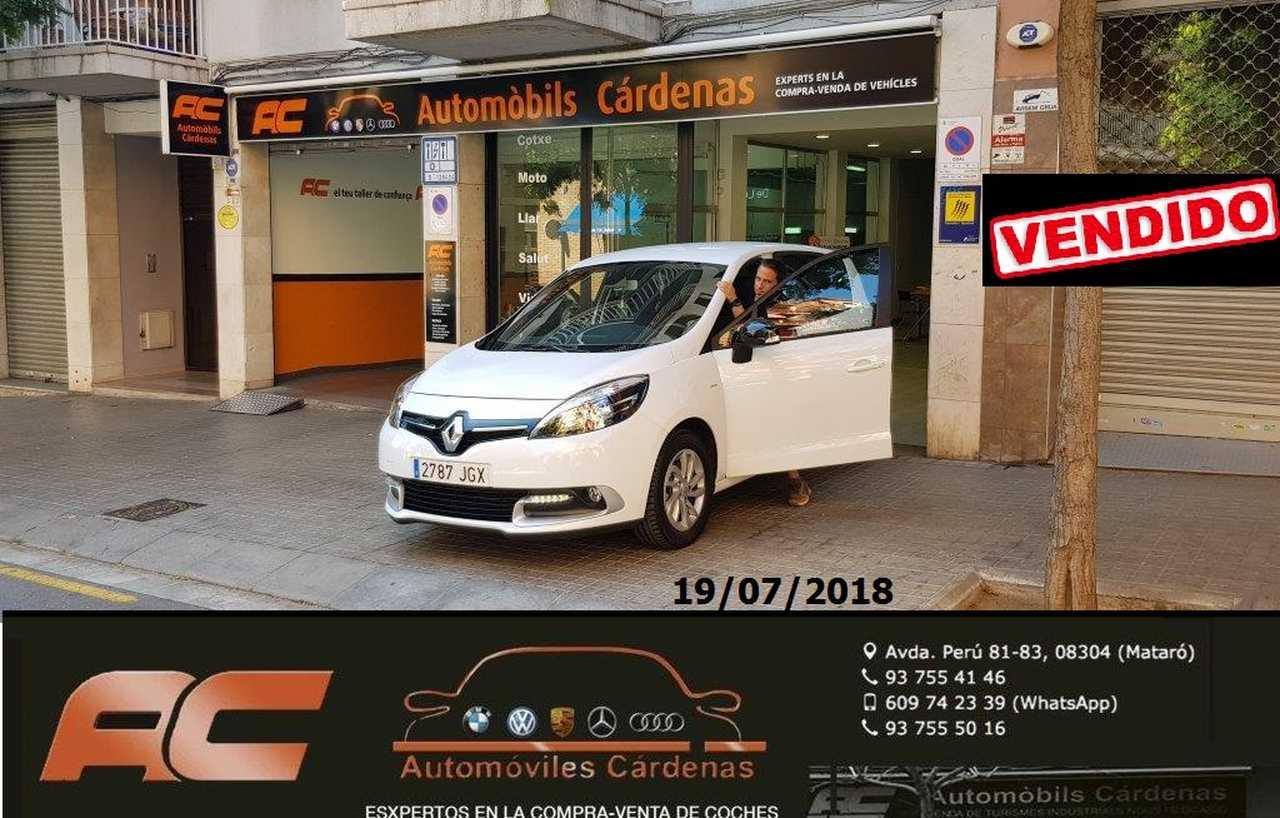 Renault Scénic 1.2 TCe 115cv LIMITED ENERGY CLIMA-USB-LLANTAS-USB-BLEUTOOTH  - Foto 1